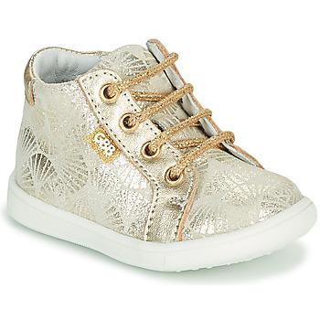 Schoenen Meisjes Hoge sneakers GBB FAMIA Goud