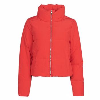 Textiel Dames Dons gevoerde jassen Only ONLDOLLY Rood
