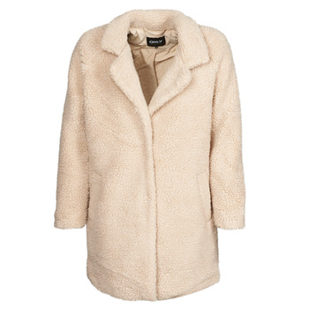 Textiel Dames Mantel jassen Only ONLAURELIA Beige