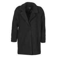 Textiel Dames Mantel jassen Only ONLAURELIA Zwart