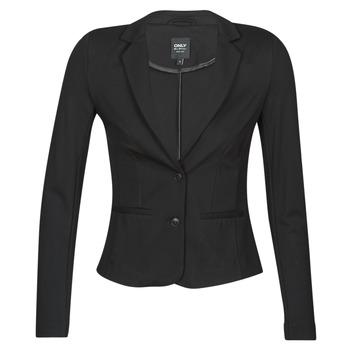 Textiel Dames Jasjes / Blazers Only ONLPOPTRASH BLAZER Zwart