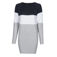 Textiel Dames Korte jurken Only ONLLILLO Marine / Wit / Grijs