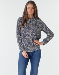 Textiel Dames Tops / Blousjes Only ONLNEW MALLORY Marine