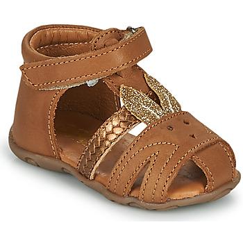 Schoenen Meisjes Sandalen / Open schoenen GBB FADIA Bruin