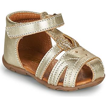 Schoenen Meisjes Sandalen / Open schoenen GBB FADIA Goud