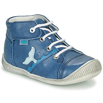 Schoenen Jongens Hoge sneakers GBB ABRICO Blauw
