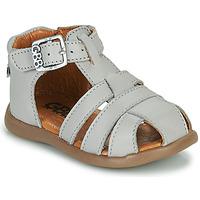 Schoenen Jongens Sandalen / Open schoenen GBB FARIGOU Vte / Grijs / Dpf / Cric