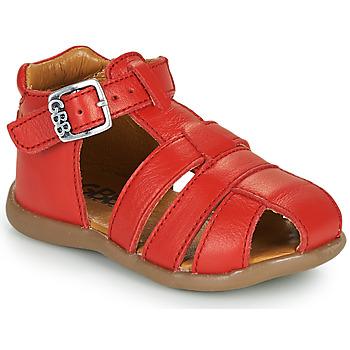 Schoenen Jongens Sandalen / Open schoenen GBB FARIGOU Vte / Rood / Dpf / Cric