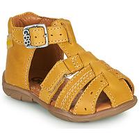 Schoenen Jongens Sandalen / Open schoenen GBB ARIGO Geel