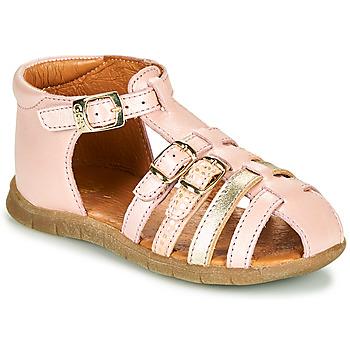 Schoenen Meisjes Sandalen / Open schoenen GBB PERLE Roze