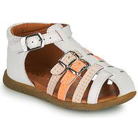 Schoenen Meisjes Sandalen / Open schoenen GBB PERLE Wit