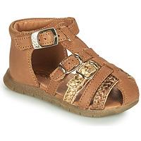 Schoenen Meisjes Sandalen / Open schoenen GBB PERLE Bruin
