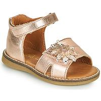 Schoenen Meisjes Sandalen / Open schoenen GBB SATIA Roze / Goud
