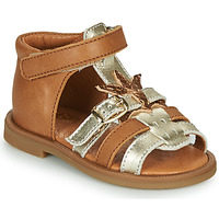 Schoenen Meisjes Sandalen / Open schoenen GBB CARETTE Bruin