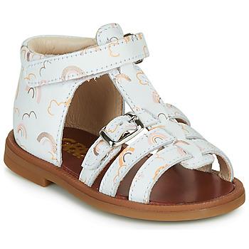 Schoenen Meisjes Sandalen / Open schoenen GBB PHILIPPINE Wit