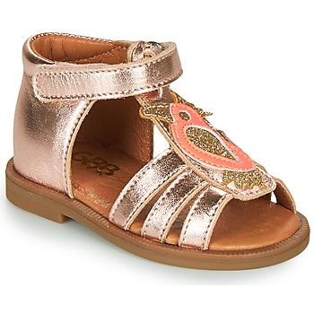 Schoenen Meisjes Sandalen / Open schoenen GBB FRANIA Roze / Goud