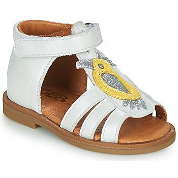 Schoenen Meisjes Sandalen / Open schoenen GBB FRANIA Wit