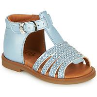 Schoenen Meisjes Sandalen / Open schoenen GBB ATECA Blauw