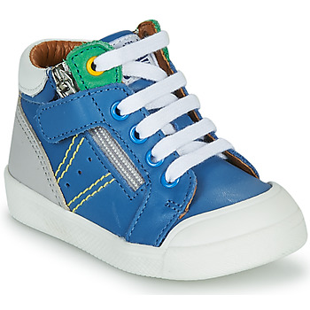 Schoenen Jongens Hoge sneakers GBB ANATOLE Blauw