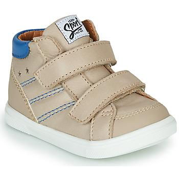 Schoenen Jongens Hoge sneakers GBB MORISO Beige
