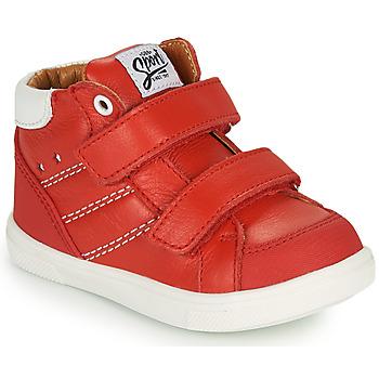 Schoenen Jongens Hoge sneakers GBB MORISO Rood