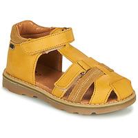 Schoenen Jongens Sandalen / Open schoenen GBB MITRI Geel