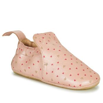 Schoenen Meisjes Sloffen Easy Peasy BLUBLU Roze
