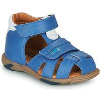 Schoenen Jongens Sandalen / Open schoenen GBB NUVIO Blauw