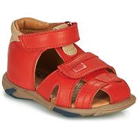 Schoenen Jongens Sandalen / Open schoenen GBB NUVIO Rood