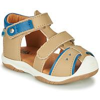 Schoenen Jongens Sandalen / Open schoenen GBB EUZAK Beige