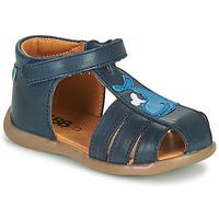 Schoenen Jongens Sandalen / Open schoenen GBB IROKO Blauw
