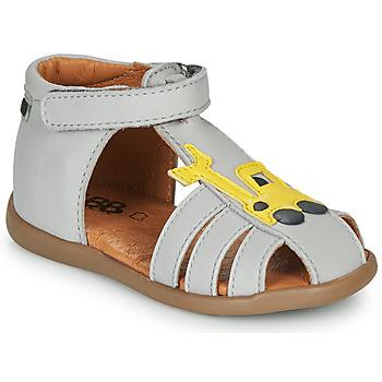 Schoenen Jongens Sandalen / Open schoenen GBB TULIO Grijs