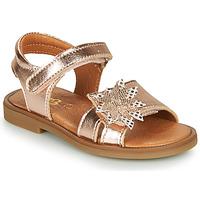 Schoenen Meisjes Sandalen / Open schoenen GBB UPPLA Roze / Goud