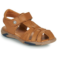 Schoenen Jongens Sandalen / Open schoenen GBB LUCA Bruin
