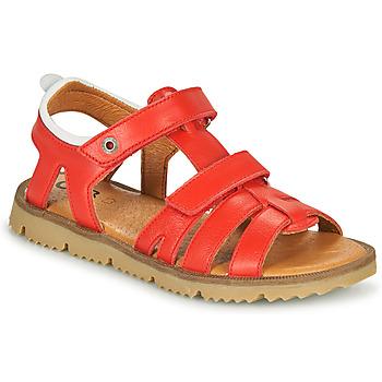 Schoenen Jongens Sandalen / Open schoenen GBB JULIO Rood