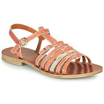 Schoenen Meisjes Sandalen / Open schoenen GBB BANGKOK Koraal