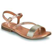 Schoenen Meisjes Sandalen / Open schoenen GBB FANA Roze / Goud / Goud