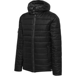 Textiel Kinderen Dons gevoerde jassen Hummel Parka enfant   North Quilted noir/gris anthracite