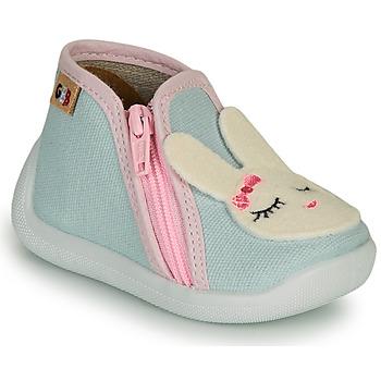 Schoenen Meisjes Sloffen GBB APOLA Blauw