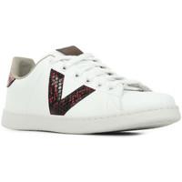 Schoenen Dames Lage sneakers Victoria Tenis Serpiente Wit