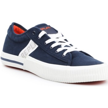 Schoenen Heren Lage sneakers Replay Kinard RV840015T-0040 navy , white