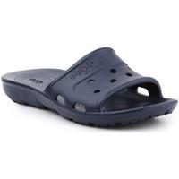 Schoenen Leren slippers Crocs Jibbitz Presley Slide 202967-410 navy