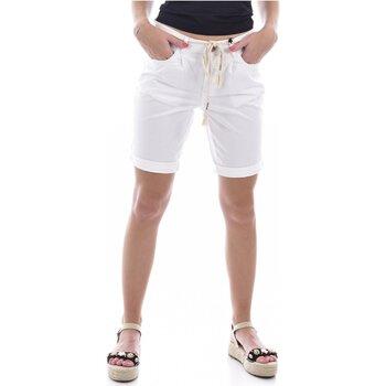 Textiel Dames Korte broeken / Bermuda's Deeluxe STATE Wit