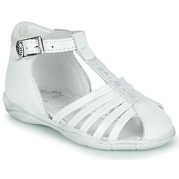 Schoenen Meisjes Sandalen / Open schoenen Little Mary VOLGA Wit