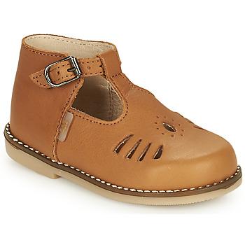 Schoenen Meisjes Hoge sneakers Little Mary SURPRISE Bruin