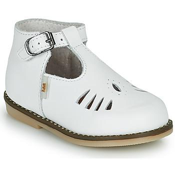 Schoenen Meisjes Hoge sneakers Little Mary SURPRISE Wit
