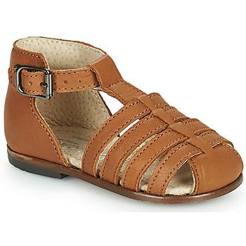 Schoenen Meisjes Sandalen / Open schoenen Little Mary JULES Bruin