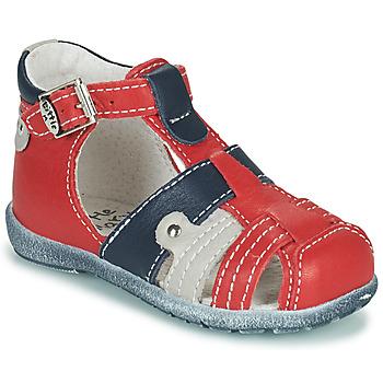 Schoenen Jongens Sandalen / Open schoenen Little Mary VERCORS Rood
