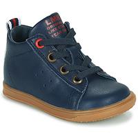 Schoenen Jongens Hoge sneakers Little Mary LEON Blauw