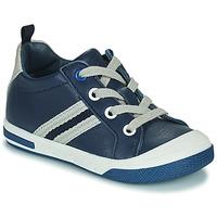 Schoenen Jongens Lage sneakers Little Mary LOGAN Blauw